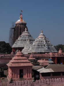 The forbidden Jagannath temple in Puri